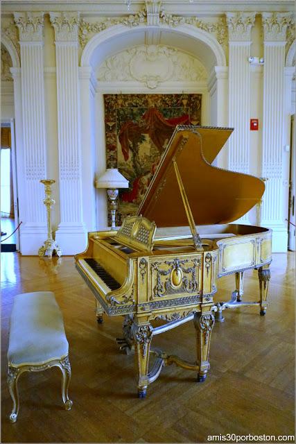 Piano del Salón de Baile de la Mansión Rosecliff, Newport