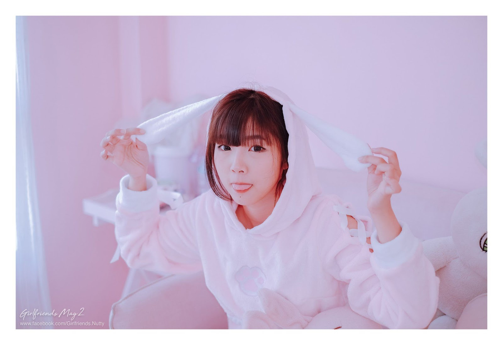 Image Thailand Model - Pakkhagee Arkornpattanakul - Pink Bunny - TruePic.net - Picture-2