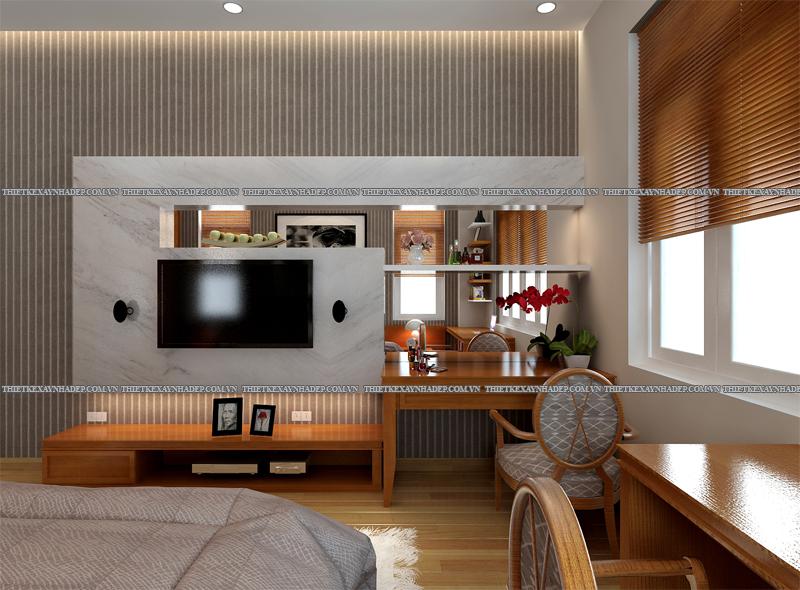 Mẫu thiết kế nội thất phòng ngủ đẹp anh Đăng - chị Thu Ngân Q.2 Phong-ngu-master-3
