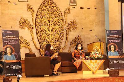 Santy Sastra, Santy Sastra Public Speaking, Dies Natalis Fakultas Ekonomi dan Bisnis  Universitas Udayana