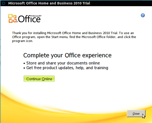 Install Microsoft Office 2010 in Ubuntu 12 10/12 04 and