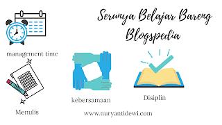 Serunya belajar bersama blogspedia