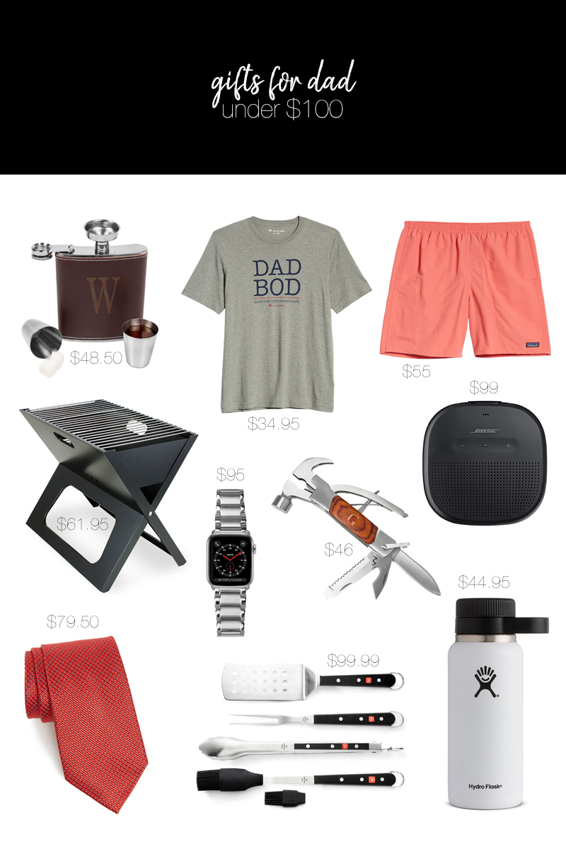 gifts for dad under $100