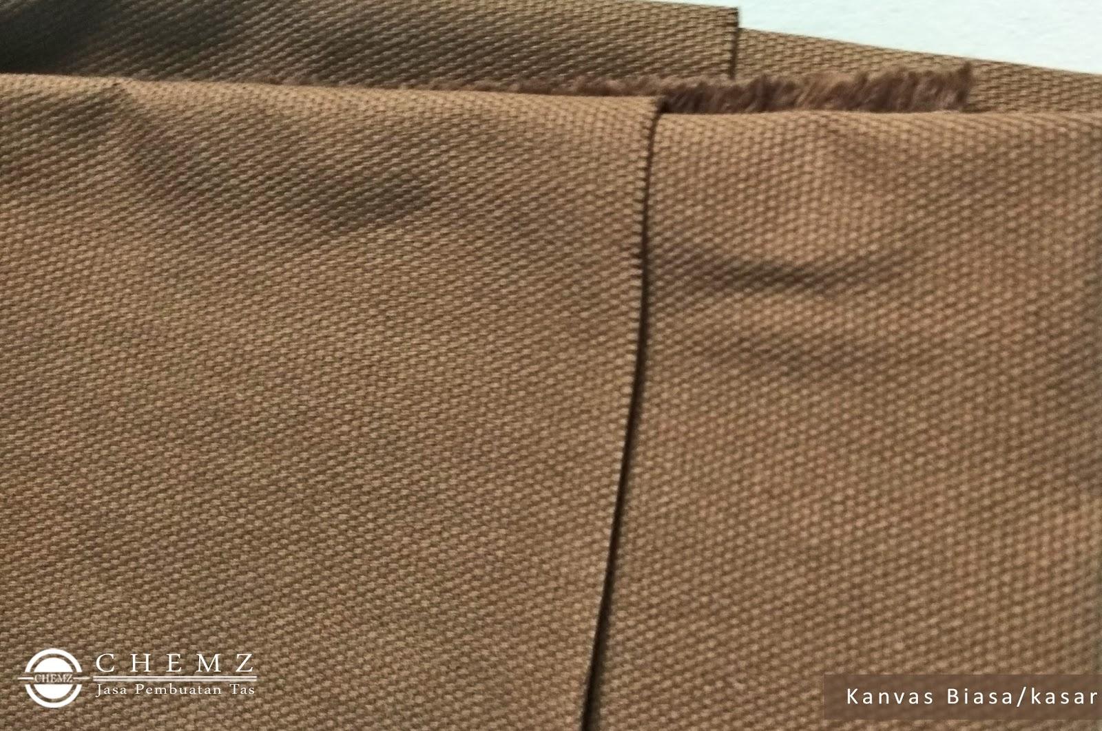 Bikin Tas Custom Dengan Bahan Kanvas Tempat Pensil Kain Biasa Memiliki Tesktur Permukaan Yang Agak Kasar Dan Sedikit Kaku Halus Tekstur Lebih Tidak