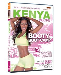 DVD Review - Kenya Moore: Booty Boot Camp