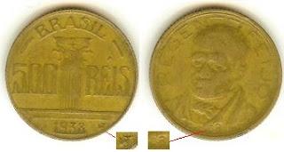 500 Réis, 1938