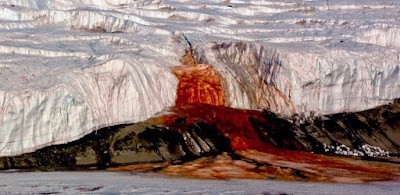 Blood Falls, Blood Waterfalls, Antarctica's Blood Fall