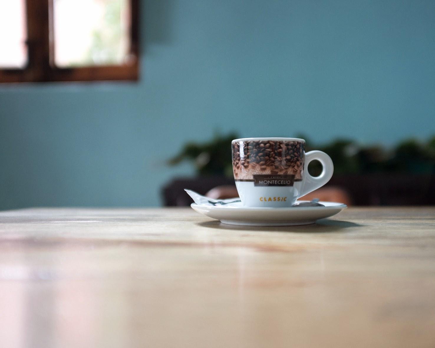 café en restaurante villa del mar en Benicasim