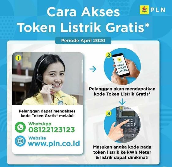 cara mendapatkan gratis token prabayar pln 3 bulan mendapatkan gratis token prabayar pln