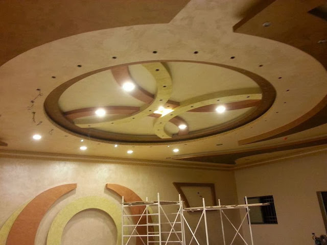 decoration platre plafond