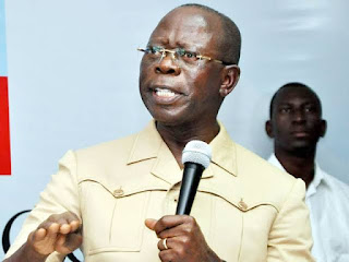 Use your PVC to sentence PDP, Atiku to political death - Oshiomhole begs Nigerians