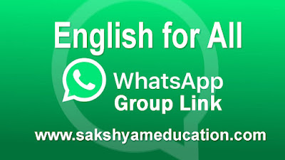 Join English for All WhatsApp Group Links