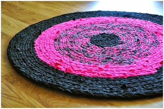 Em rita desastre crochet seguimos tejiendo alfombras de trapillo - Alfombra trapillo facil ...