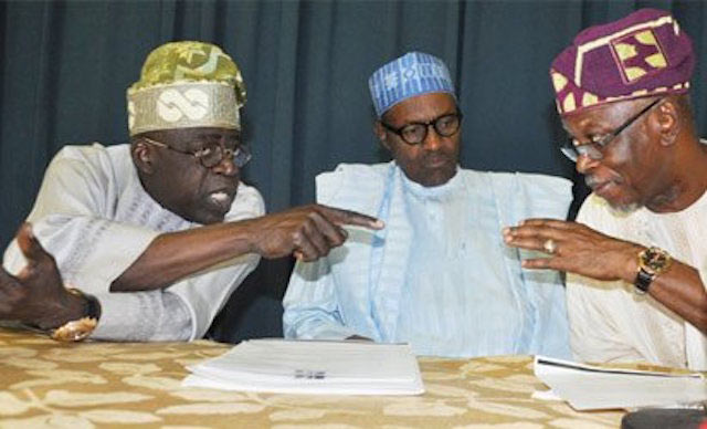 Oyegun is useless for APC, party chieftain tells Buhari