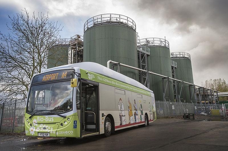Автобус, который работает на отходах жизнедеятельности человека | Bio-Bus