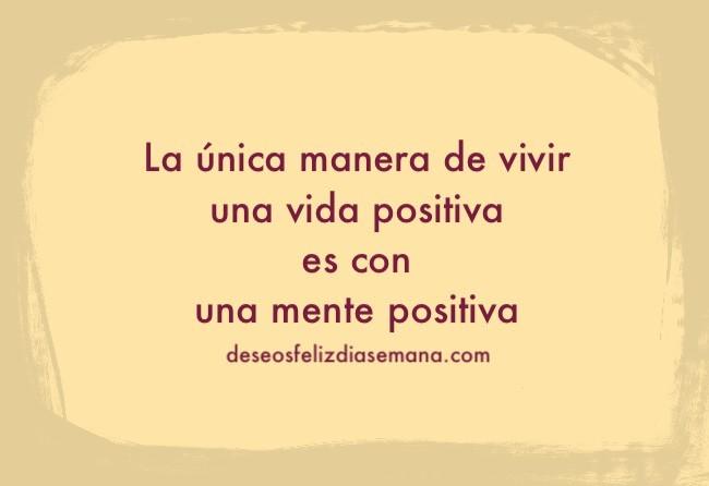 imagen vida positiva mante positiva frases aliento lunes