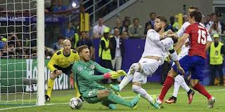 Kontroversi Gol Ramos ke Gawang Atletico