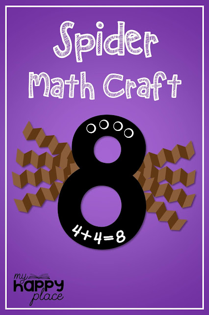 Spider Math Craft