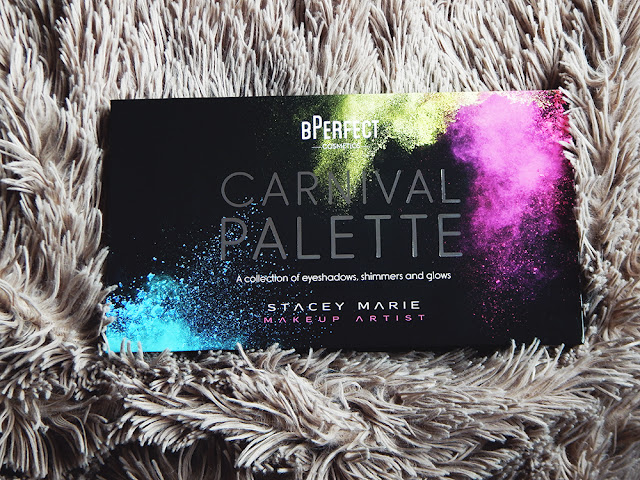 BPerfect Cosmetics x Stacey Marie Carnival Palette Review outer packaging
