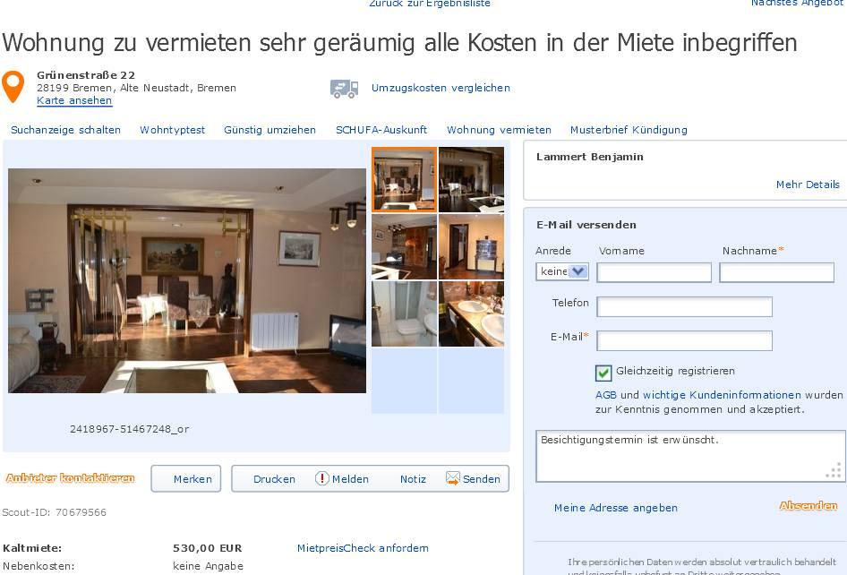 Bremen Wohnung Neustadt