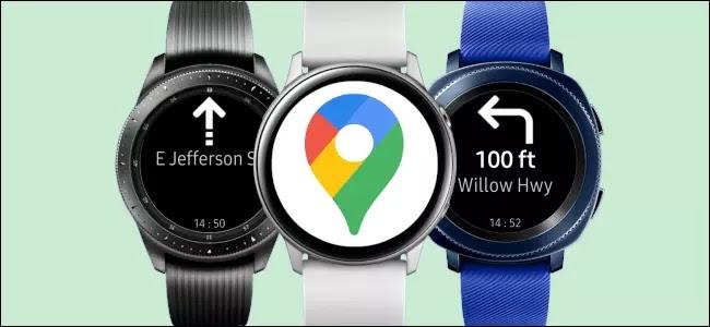 Cómo usar Google Maps en un reloj inteligente Samsung Galaxy