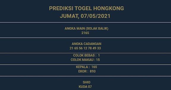2 - PREDIKSI HONGKONG 07 MEI 2021