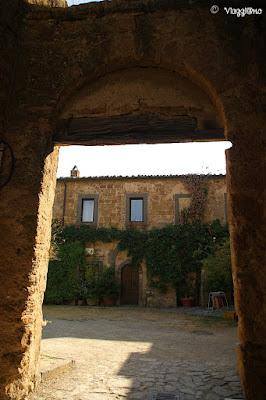 Scorci del borgo di Civita di Bagnoregio