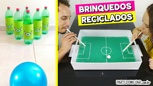 brinquedos de reciclados