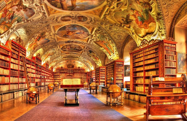 Biblioteca do Mosteiro de Strahov em Praga