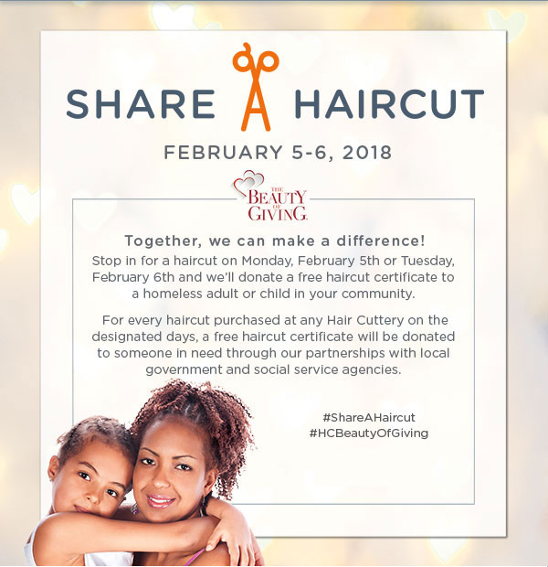 Uptown Update Share Your Haircut Hair Cuttery Offers Haircuts To