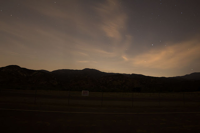 Clouds and stars in this 30 second exposure at Bob Swenson Field (Source: Palmia Observatory)