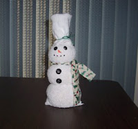 Poppy the snowman