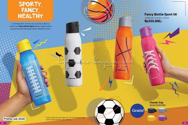 Botol minum bola Tupperware Promo Juli 2020