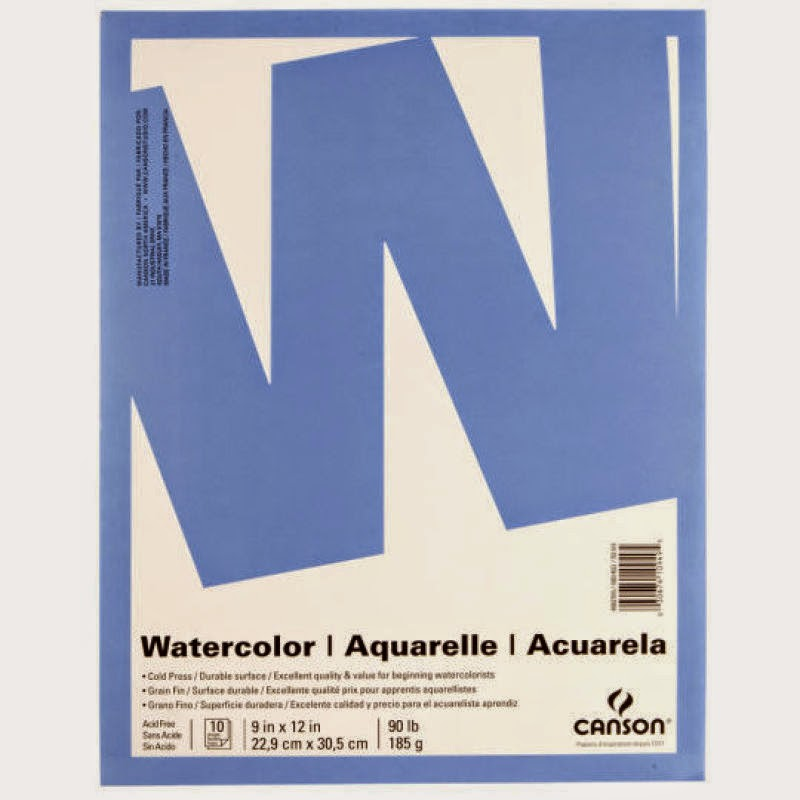 http://www.michaels.com/canson-value-watercolor-pad/10040175.html#q=canson+watercolor+paper&start=2