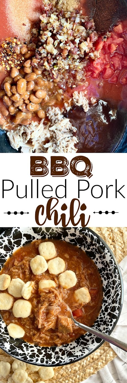 bbq pulled pork chili