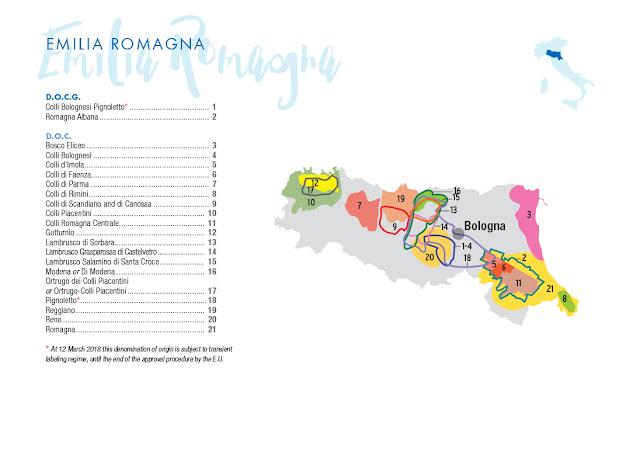 Emilia Romagna wine region