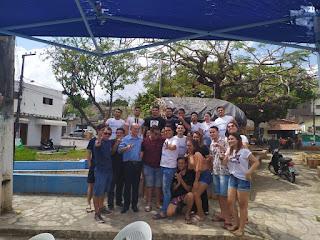 Vitor Cavalcante agradece com mensagem em meio a confraternização do avança em Guarabira