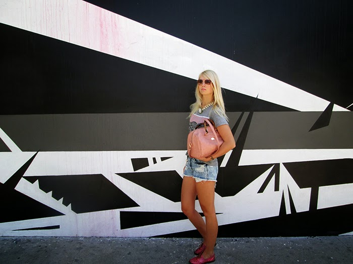 black and white graffiti wall fashion los angeles