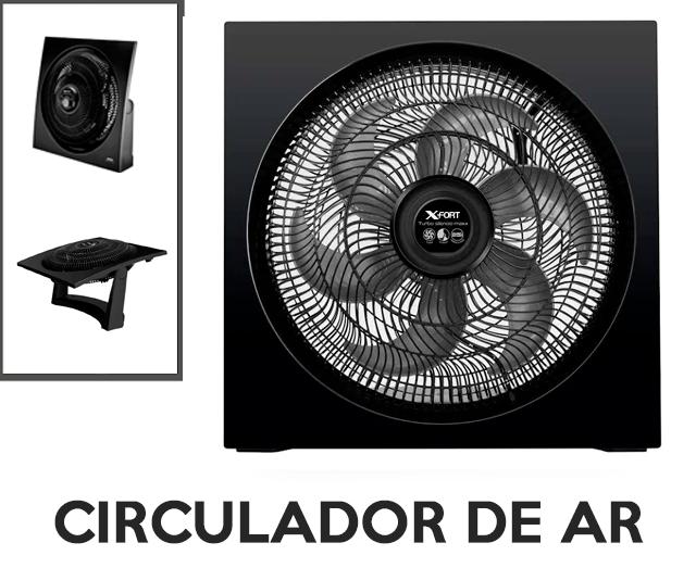 Circulador de Ar Turbo X-Fort