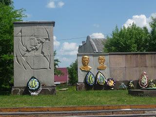 Долина. Івано-Франківська обл. Військовий меморіал