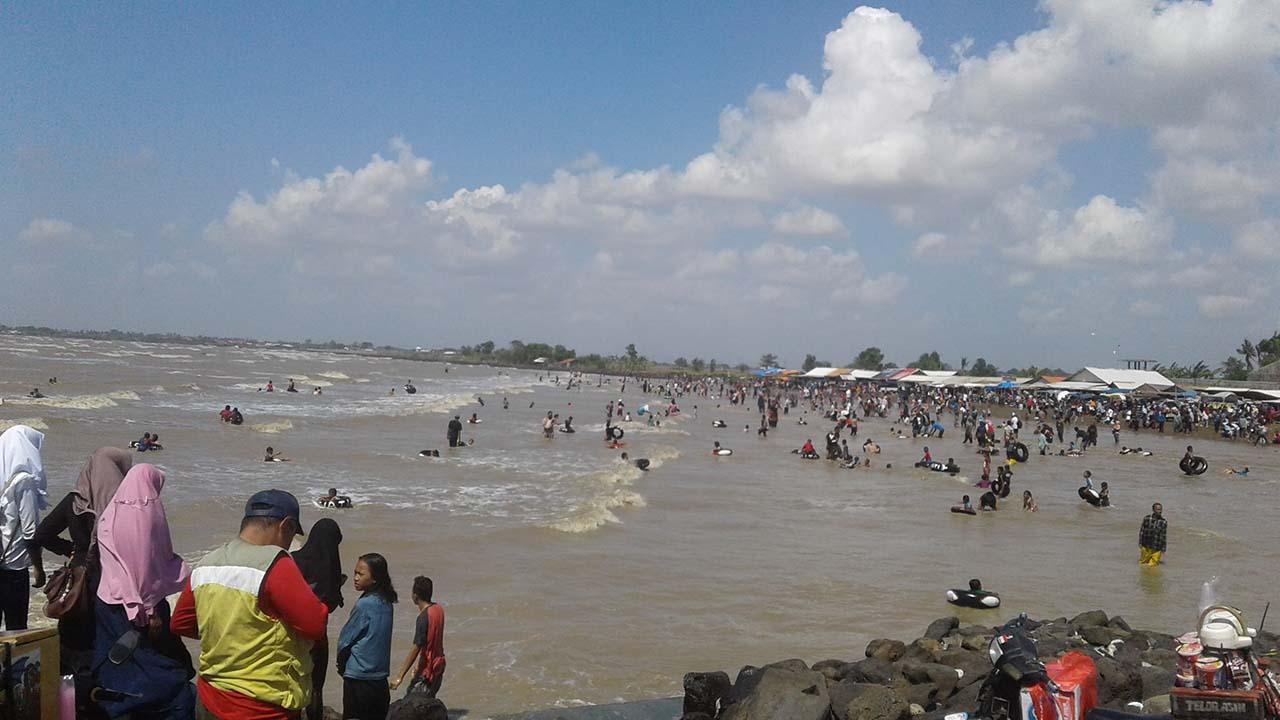 Pantai Patimban Tempat Wisata Keluarga