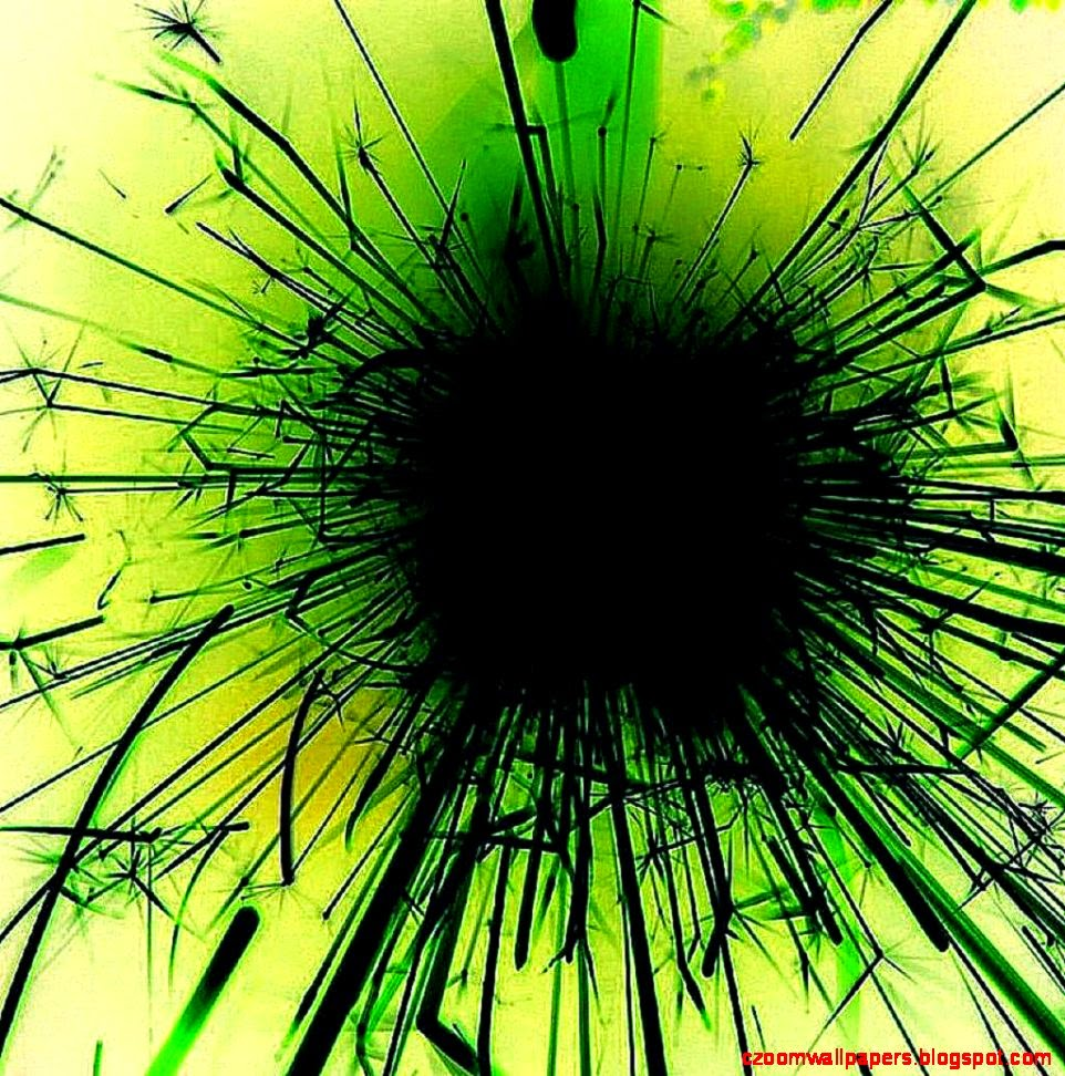 Green Abstract Art Free Wallpaper For Android Tablet 7 Inch