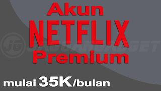 Jual Akun Netflix