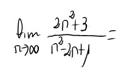 14. Límite de una sucesión (cociente de polinomios) 9
