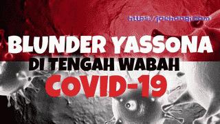 Blunder Yasonna Di Tengah Wabah Pandemi Covid-19