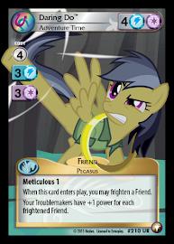 My Little Pony Daring Do, Adventure Time Equestrian Odysseys CCG Card