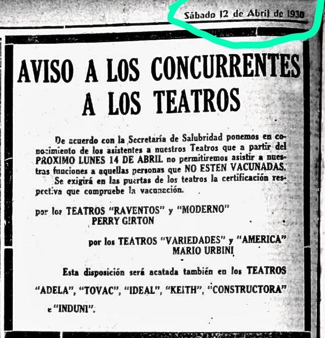 Fue en el año 1930...