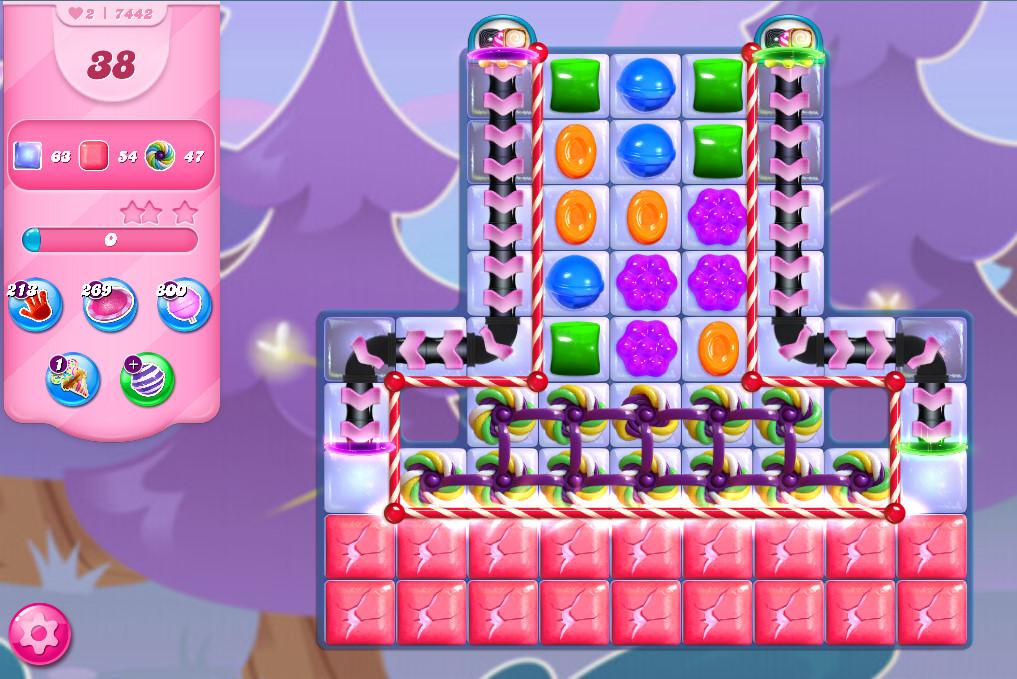 Candy Crush Saga level 7442