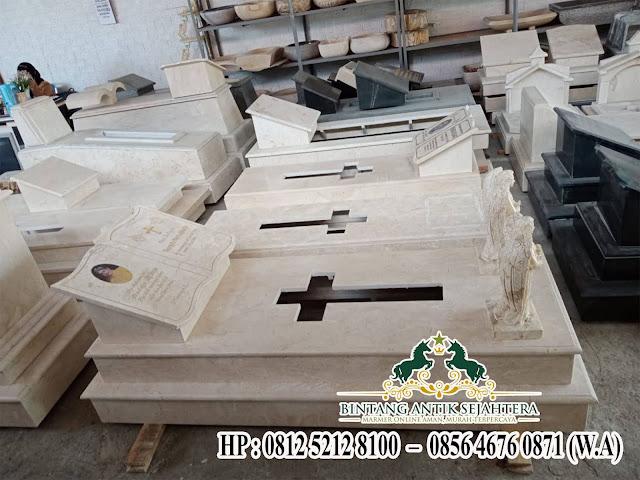 Makam Batu Marmer Tingkat 2, Contoh Makam Keramik Bahan Marmer