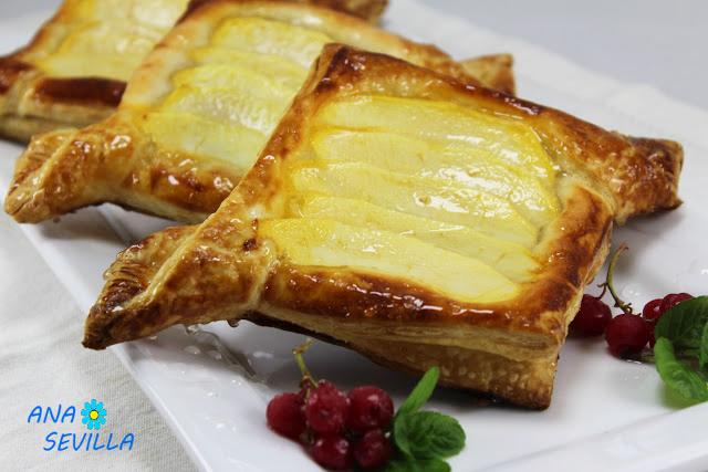 Tartaletas de almendra y manzana Ana Sevilla cocina tradicional.